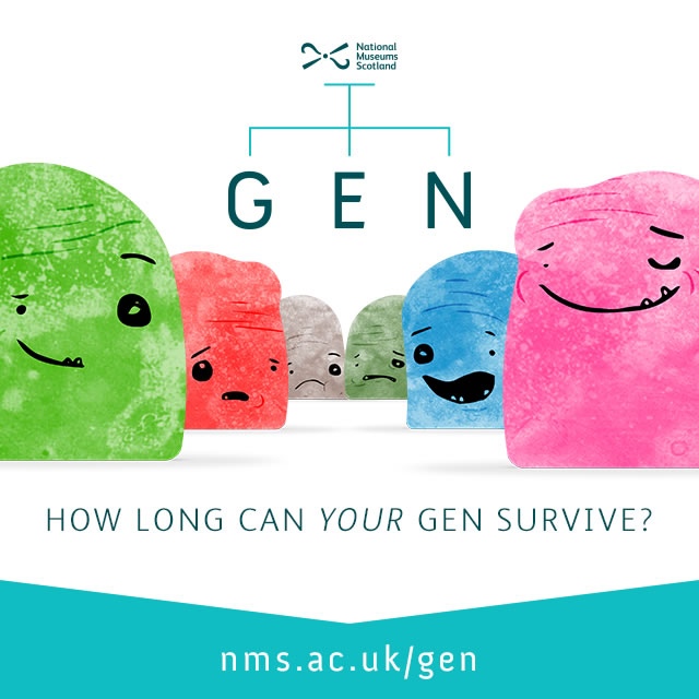 Promotional graphic for Gen