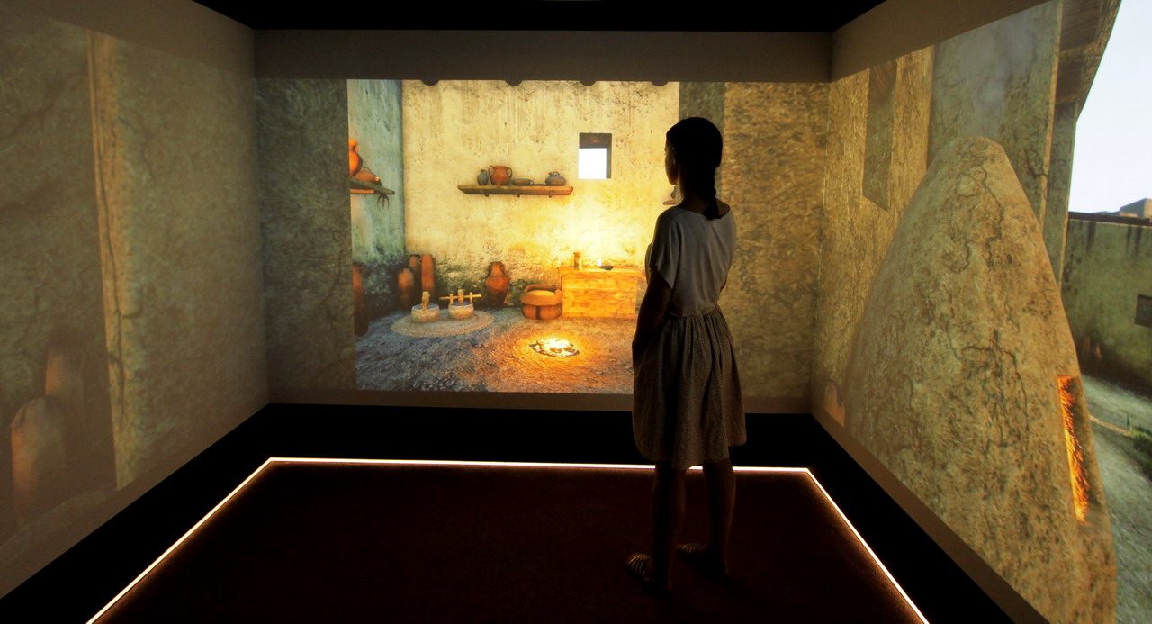 D Virtual Reality Exhibition : Virtual reality and archaeological reconstruction be