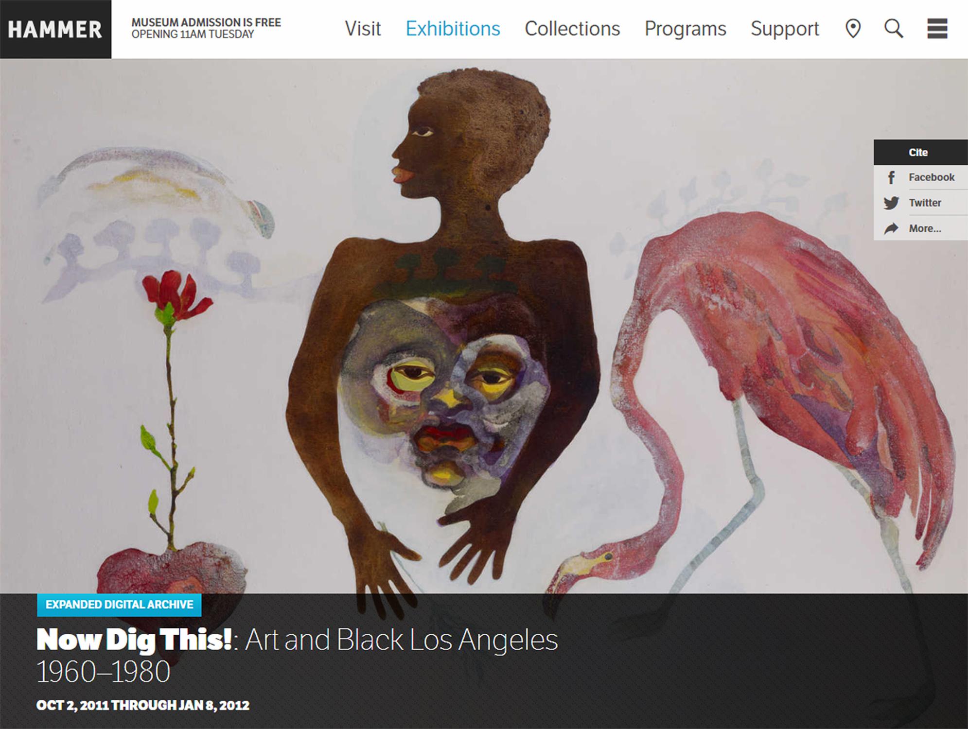 Now Dig This Art In Black Los Angeles 19601980 Digital Archive