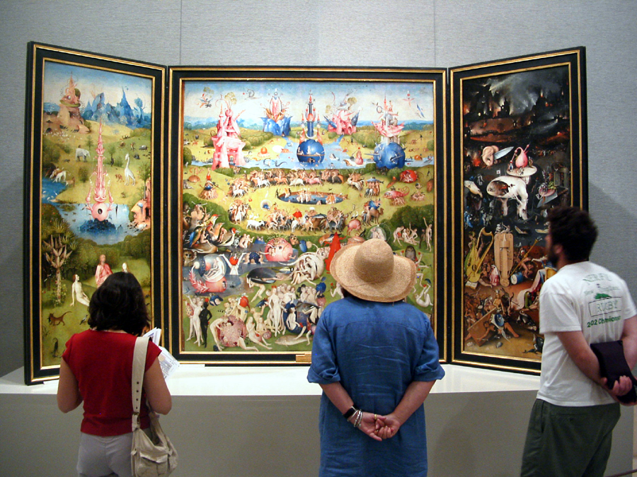 Jheronimus bosch the garden of earthly delights mw17 for Boch madrid